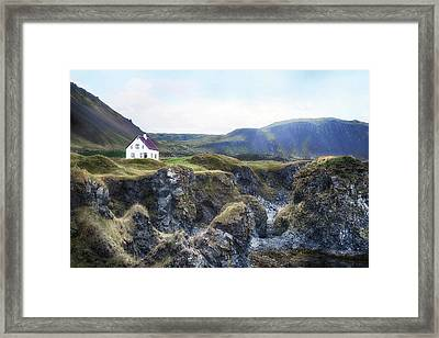 Arnastapi - Iceland Framed Print by Joana Kruse