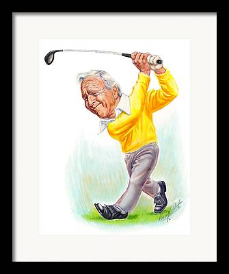 Masters Golf Framed Prints