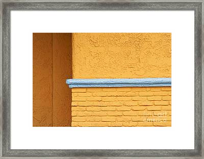 Around The Corner Framed Print by Dan Holm