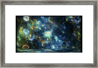 #art #abstract #digitalart Framed Print by Michal Dunaj