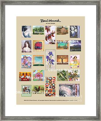 Art Collection Framed Print