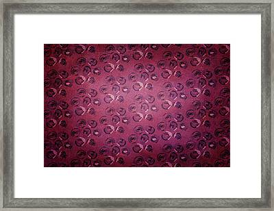 Art Deco Pattern Background Framed Print