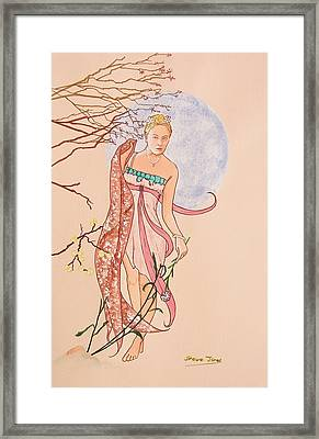 Art Nouveau Framed Print by Steve Jones