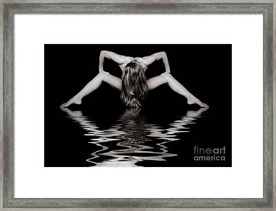 Art Of A Woman Framed Print
