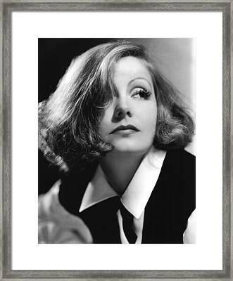 As You Desire Me, Greta Garbo, Portrait Framed Print by Everett