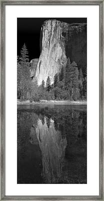 Ascend The Wall Framed Print