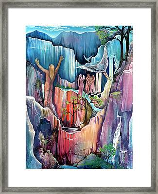 Ascension Framed Print by Sevan Thometz