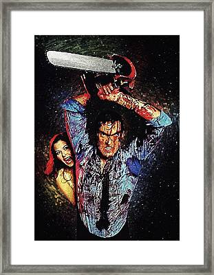 Ash Williams Framed Print