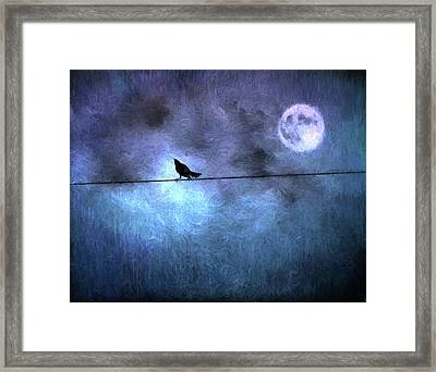 Ask Me For The Moon Framed Print