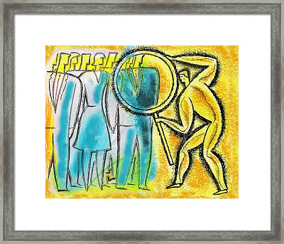 Assessment Framed Print