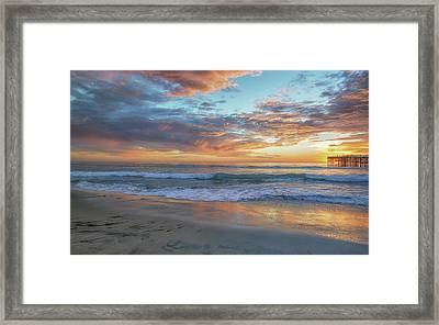 At Sunset Framed Print by Joseph S Giacalone