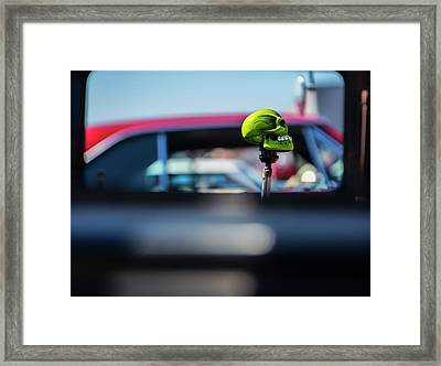 At The Car Show Framed Print by Larry Helms