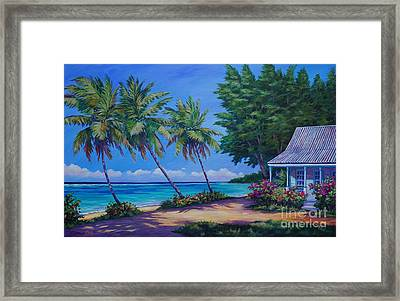 At The Island's End Framed Print by John Clark