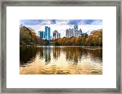 Atlanta - Usa Framed Print by Luciano Mortula