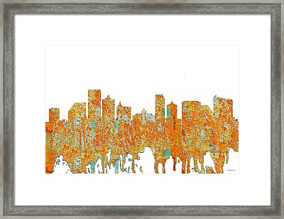 Atlantic City Nj Framed Print
