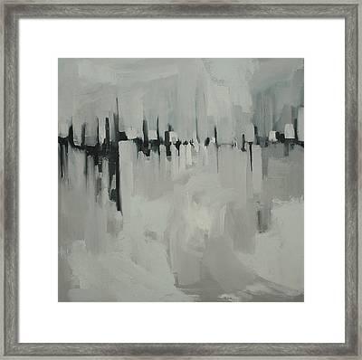 Atmospheric Pressure Framed Print by Liz Maxfield