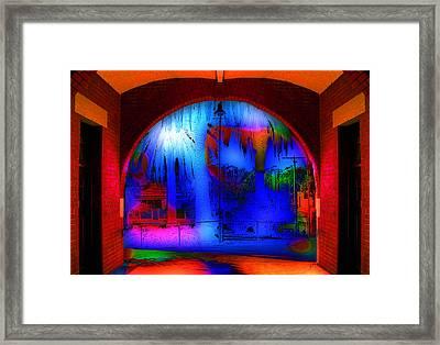 Auburn Station Framed Print by Peter Lloyd