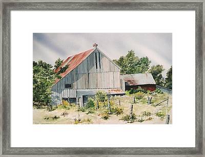 August 2nd Framed Print