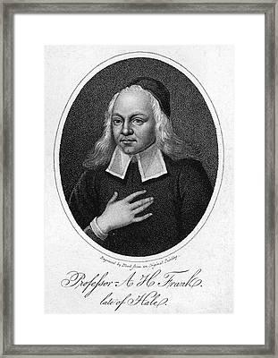 August Hermann Francke Framed Print