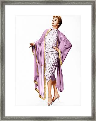 Auntie Mame, Rosalind Russell, 1958 Framed Print