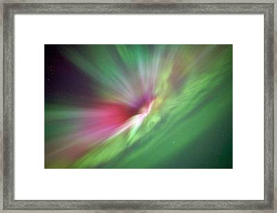 Aurora Borealis - Northern Lights Framed Print by Teemu Tretjakov