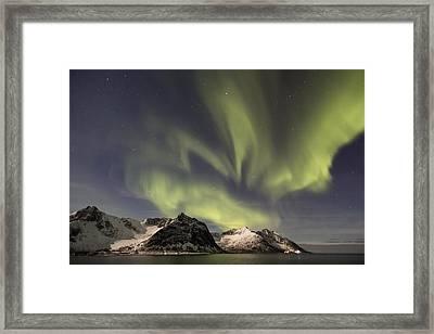 Aurora Borealis Framed Print by Thomas Berger