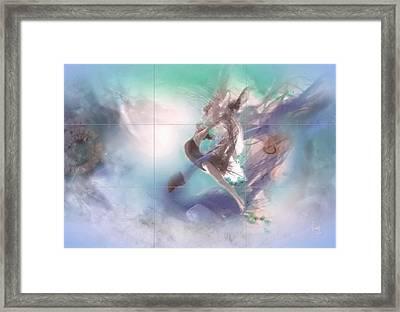 Daybreak Framed Print by Freddy Kirsheh