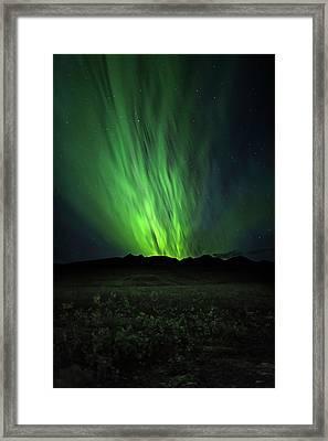 Aurora Rush Framed Print