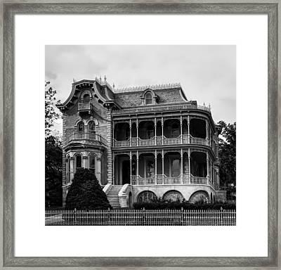 Austin's Historic Bremond House Framed Print by Mountain Dreams