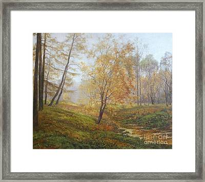 Autumn Framed Print by Andrey Soldatenko