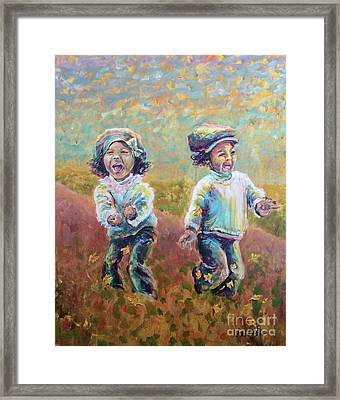Autumn Joy Framed Print