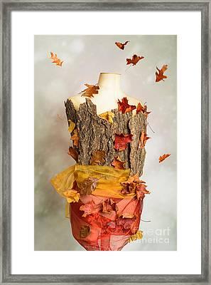 Autumn Mannequin Framed Print by Amanda Elwell