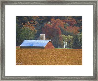 Autumn Of Our Father's Framed Print