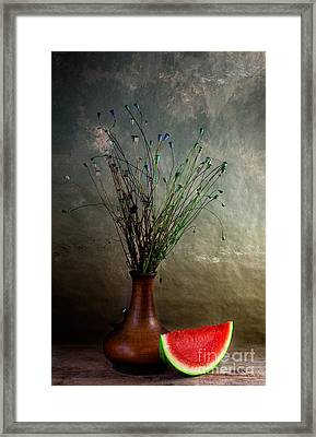 Autumn Still Life Framed Print