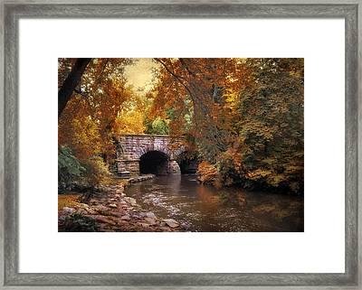 Autumn's Ebb Framed Print by Jessica Jenney