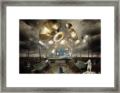 Autum_waltz Framed Print by Alexander Kruglov