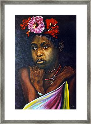 Awakening Framed Print by Shahid Muqaddim