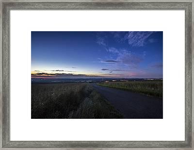 Away Framed Print by Angela Aird