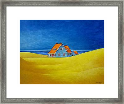 Away Framed Print by Chris Boone