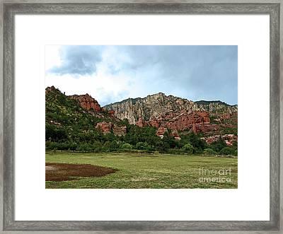 AZ Framed Print
