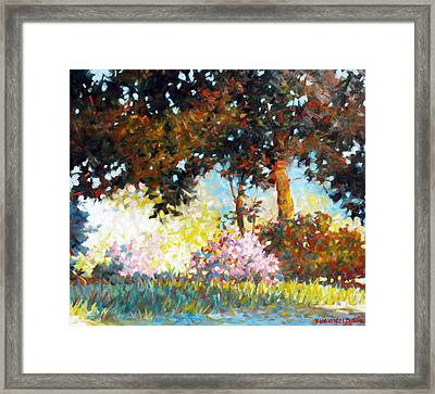 Azaleas Framed Print by Kevin Lawrence Leveque