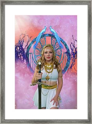 Azna Framed Print