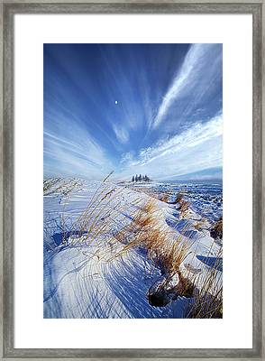 Framed Print featuring the photograph Azure by Phil Koch