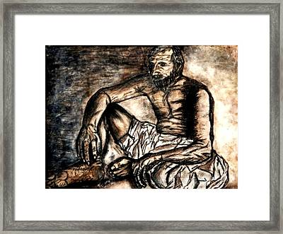 Baba Jee Framed Print