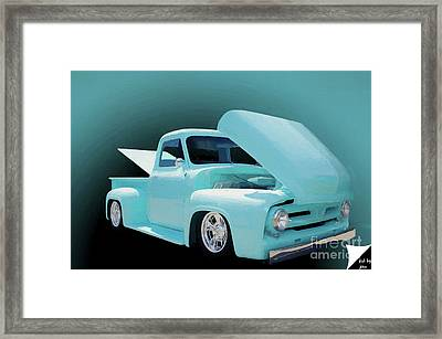 Framed Print featuring the photograph Baby Blue 2 by Jim  Hatch