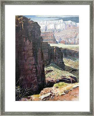 Back Of Zion Framed Print by Bob Duncan