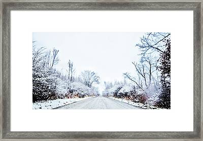 Back Roads Framed Print by William Tiano