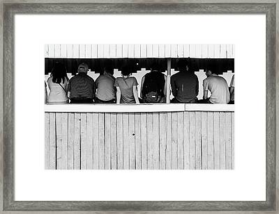 Framed Print featuring the photograph Back To Backs by John Williams