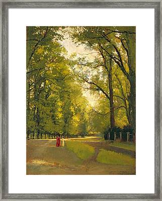 Backs Of The Colleges Cambridge Framed Print by Cyrus Johnson