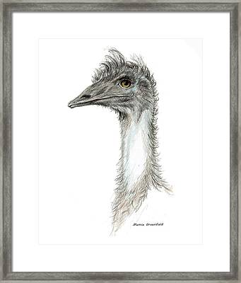 Bad Leroy Brown The Emu Framed Print